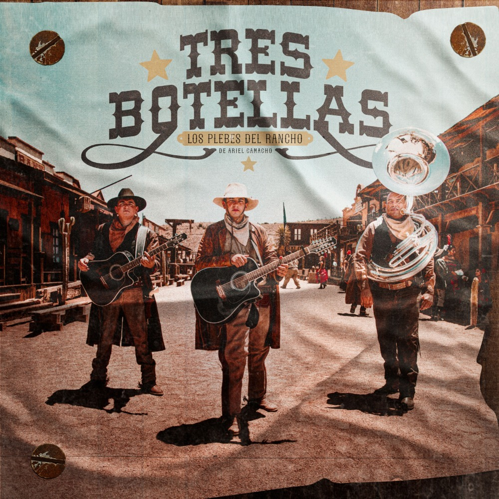 tresbotellas los plebes del rancho tres botellas jg music